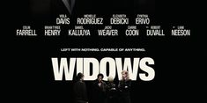 Widows, A police shootout leaves four thieves dead during an explosive armed robbery attempt in Chicago. Their widows have nothing in common except a debt. Veuve, Steve Mcqueen, Movies, Poster, Films, Film Books, Movie, Posters