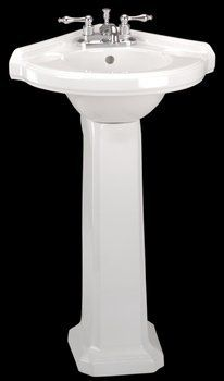 Corner Pedestal Sinks For Small Bathrooms Corner Sink With Pedestal Sinksgallery