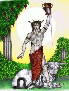 Dionysus god of homosexuality
