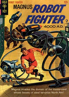scificovers:  Magnus Robot Fighter issues #11 - #20. Covers...