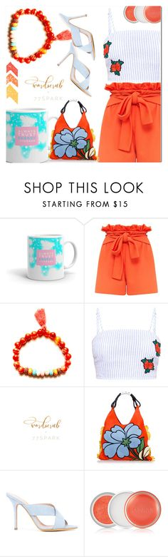 """29.77 Spark"" by fatimka-becirovic ❤ liked on Polyvore featuring Marni, ALEXA WAGNER, Clinique and 77spark"