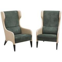 Gio Ponti, Pair of Armchairs, Italy, c. 1964