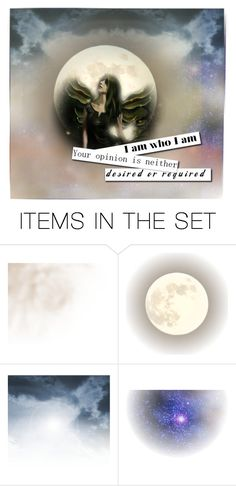 """""""You are who you are"""" by felizim ❤ liked on Polyvore featuring art"""