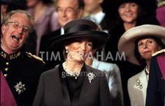 Queen Paola of Belgium, December 4, 1999
