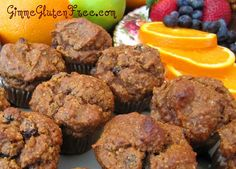 GF pumpkin muffins