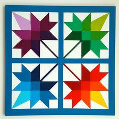 Barn Quilt Designs, Barn Quilt Patterns, Quilting Designs, Star Quilts, Quilt Blocks, Dear Jane Quilt, Painted Barn Quilts, Bird Barn, Barn Art
