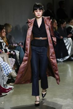 Brock Collection Fall 2018 Ready-to-Wear Collection