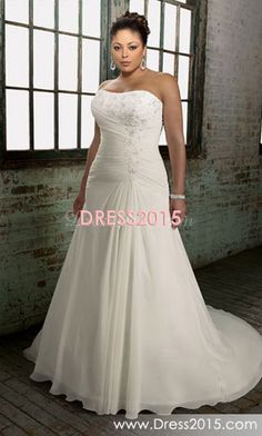 there is something about this dress that I love...wish there was lace on it though