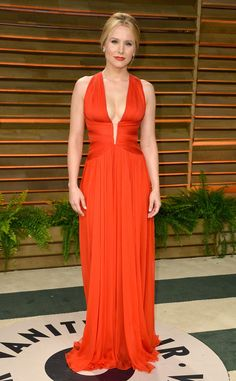 Lady in Red from Kristen Bell's Best Looks | E! Online