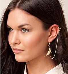 Los pendientes más atrevidos se llaman ear cuff en Cosmopolitan.com.es