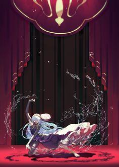 Aqua (Fire Emblem) (Azura (fire Emblem)) - Fire Emblem If - Mobile Wallpaper - Zerochan Anime Image Board Fire Emblem Azura, Fire Emblem Games, Fire Emblem Characters, Fire Emblem Awakening, Pokemon, Looks Cool, Cool Art, Anime Art, Aqua