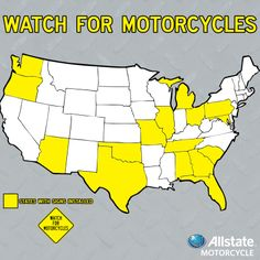 Don't forget to watch for motorcycles.