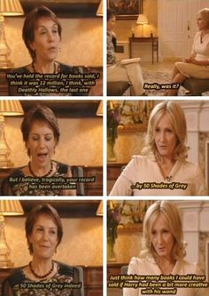 Funny pictures about JK Rowling has a sense of humor. Oh, and cool pics about JK Rowling has a sense of humor. Also, JK Rowling has a sense of humor. Harry Potter Love, Harry Potter Fandom, Dr Who, Hogwarts, We Are Bears, No Muggles, Fraggle Rock, 50 Shades Of Grey, Fifty Shades