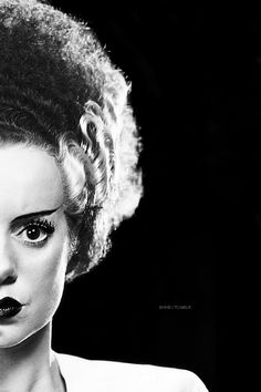 Elsa Lanchester,  'Bride of Frankenstein', 1935.