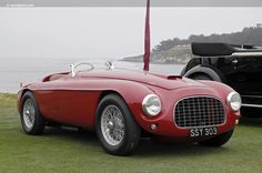Chassis 0044M. 1950 Ferrari 166MM chassis information
