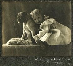 51 Adorable Photos Show That Dogs Have Always Been Children's Best Friends From Long Time Ago ~ vintage everyday