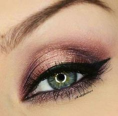 green eyes @wpn I want this eye look! Make it happen!