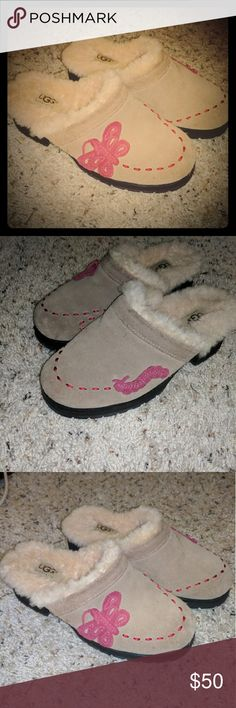 UGG Australia Clogs Cute and warm slip on clogs, made of the finest materials, the shoe is insulated with a plush cozy sheepskin lining, UGG logo patch stitched on insole UGG Shoes Mules & Clogs