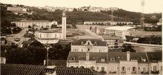 Foto tirada a partir da casa de meus Pais, na Praça de Ceuta, Bº Norton de Matos. Vê-se o Liceu Infanta D. Maria, a Escola Brotero, o velhinho Estádio Municipal de Coimbra e a Igreja de S. José