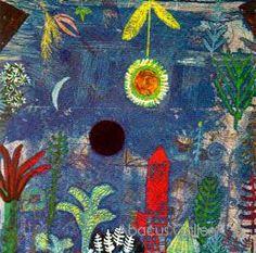 Versunkene Landschaft, Paul Klee, 1918