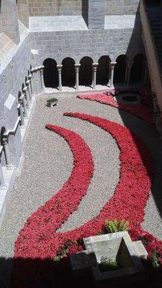 Claustre de Sant Daniel, Girona Temps de Flors  2015  Catalonia