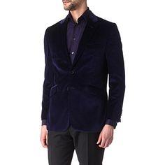 DUCHAMP Velvet jacket (Navy