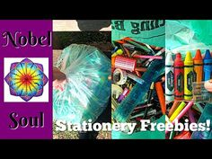 Free Stationery | Artist Vlog - YouTube In this art vlog I collect a large bag of free art supplies! In it there are pencils, pens (regular, felt pens and gel pens), crayola crayons and other handy stationary supplies! Over the coming week I will share videos where I go through all of the different stationery brands and you get to decide what I use (and which colours) in my next mandala art work so stay tuned for that! Stationary Supplies, Art Supplies, Stationery Brands, Gel Pens, Mandala Art, Crayons, Stay Tuned, Art Work, Felt