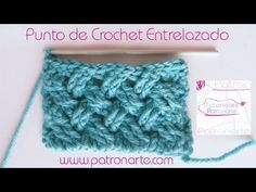 crochet celtic weave stitch english subtitles, related videos and comments Freeform Crochet, Tunisian Crochet, Crochet Afghans, Learn To Crochet, Baby Blanket Crochet, Crochet Stitches, Crochet Baby, Knit Crochet, Crochet Designs