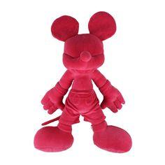 Wd Mickey Plush Pink