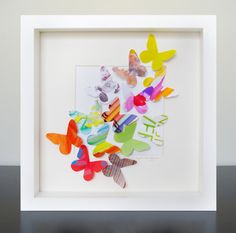 DIY : le cadre papillons du printemps | Le Meilleur du DIY