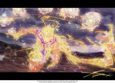 Naruto with Nine Tails fully controlled