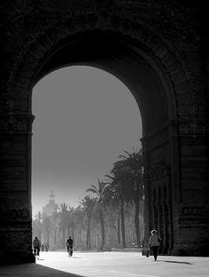 Arc de  Trionf  Barcelona  Catalunya