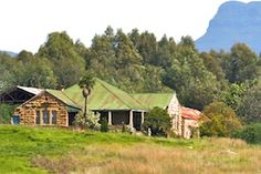 sandstone buildings free state - Google Search Free State, South Africa, Buildings, Houses, Cabin, Stone, Country, Google Search, Architecture