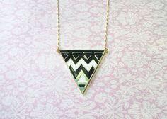 Colgante triangle - Leteo Accesorios