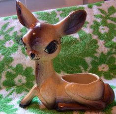 so so adorable baby deer planter by therunawaypancake on Etsy, $47.99