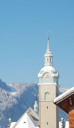Bezau, Kirche Hl. Jodok (Bregenz) Vorarlberg AUT Kirchen, San Francisco Ferry, Building, Buildings, Construction