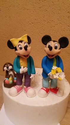 mickey and minnie different style by Petra