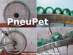 Foto: PneuPet - Ideia de pneu alternativo 100% PET. 1- Aplicação do conceito em…