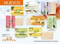 #jabones con propiedades nutrititivas y que te querrás comer por su delicioso aroma y textura.
