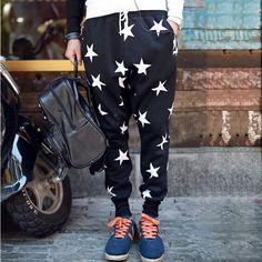 2014 sports casual skinny sweatpants men's clothing drop crotch pants harem pants fashion trousers tactical hip hop pants $39.00