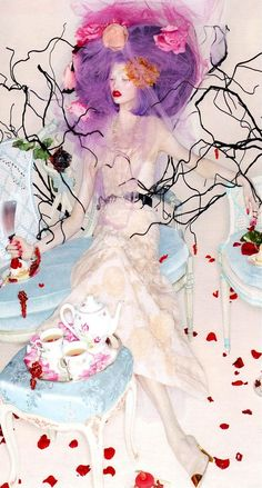 Sweet Escape | Karlie Kloss by Nick Knight for W Magazine, October 2012 #Chanel #couture