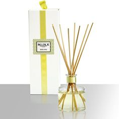 MINX Fragrances® White Citrus Perfumed Diffuser | Clean Fresh Scent | Sparkling Citrus & Fresh Greens | Notes of Sandalwood & Amber | Highly Fragranced Scented Oil Reed Diffuser ~ Great Gift idea! - http://perfumeforpleasure.com/minx-fragrances-white-citrus-perfumed-diffuser-clean-fresh-scent-sparkling-citrus-fresh-greens-notes-sandalwood-amber-highly-fragranced-scented-oil-reed-diffuser-great-gift-idea/