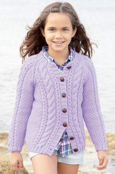 Girl's and Boy's Cardigans in Sirdar Supersoft Aran - 2383 - Downloadable PDF. Discover more patterns by Sirdar at LoveKnitting. The world's largest range of knitting supplies - we stock patterns, yarn, needles and books from all of your favourite brands.