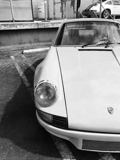 Vintage Porsche. Luft4. Luftgekühlt. Via Mija