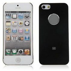 Schutzhülle Apple iPhone 5 Schutz Hülle Tasche Case Hardcase Elektroplating sw