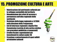 15.Programma Regionale,M5S Puglia 2015.