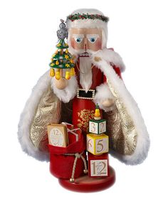 Love this 17'' Tenth Day of Christmas Nutcracker on #zulily! #zulilyfinds
