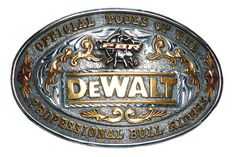 Enter to win a DeWalt, PBR belt buckle. Winner to be drawn May 11, 2012