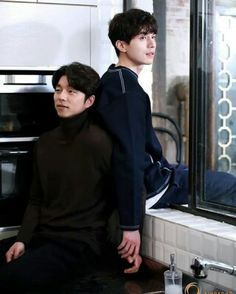 Goblin: The Lonely And Great God Gong Yoo and  Lee Dong Wook (Korean Drama)