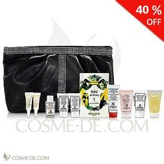 40% OFF - Sisley 11-Piece Skincare Travel Set includes:   •Ecological Compound Day & Night Cream   •Radiant Glow Express Mask with Red Clays   •Phyto-Blanc Buff and Wash Facial Gel with Botanical Extracts   •Confort Extreme Dry Skin Care   •Restorative Fluid Body Cream   •Restorative Facial Cream with Shea Butter Day and Night   •Hydra-Flash Formule Intensive   •Sisleya Eye and Lip Contour Cream   •Sisleya Radiance Anti-Aging Concentrate   •Eau de Sisley 1 Eau de Toilette   •Black Cosmetic…